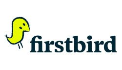 Link and logo of the ZP Europe Featured Exhibitor firstbird