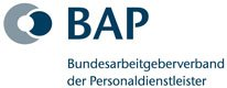Link and Logo from Zukunft Personal Media Partner BAP