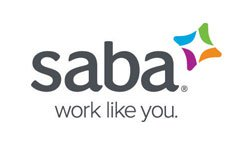 Link and logo of the ZP Europe Featured Exhibitor Saba