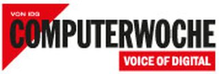 Link and logo of Main media partner Computerwoche of Zukunft Personal Europe