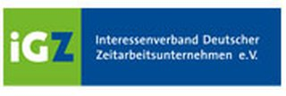 Link and logo of Sponsor iGZ of Zukunft Personal Europe