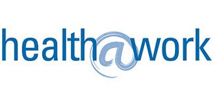 Link und Logo des Medienpartner Corporate Health Health at Work