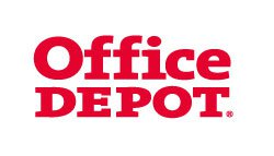 Link and logo of the ZP Europe Featured Exhibitor Office Depot
