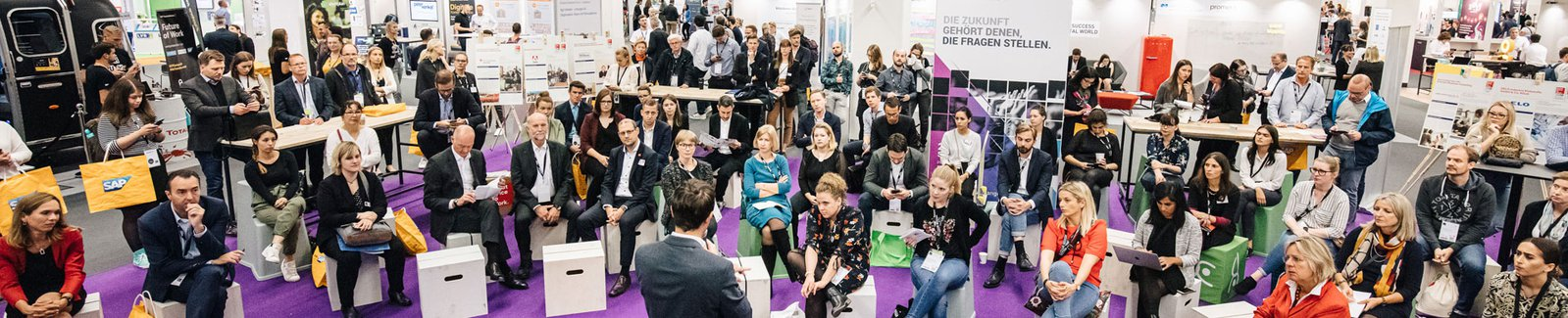 Press release about th Future of Work Village at Zukunft Personal Europe 2019